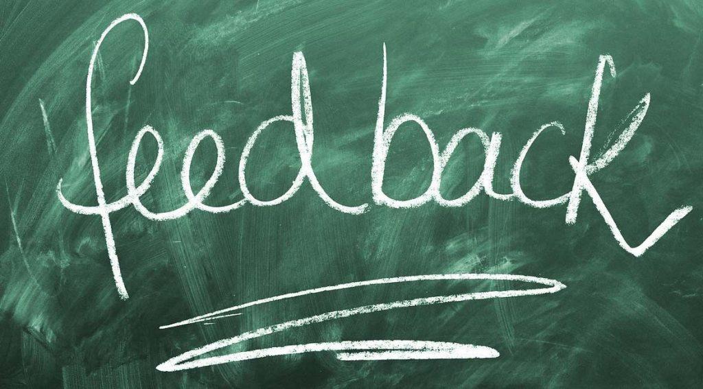 feedback importancia