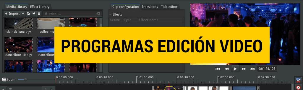 programas de edición de vídeo